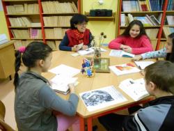 Školní knihovna – čítárna